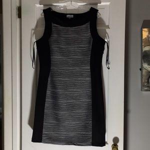 Calvin Klein Scuba Dress. EUC